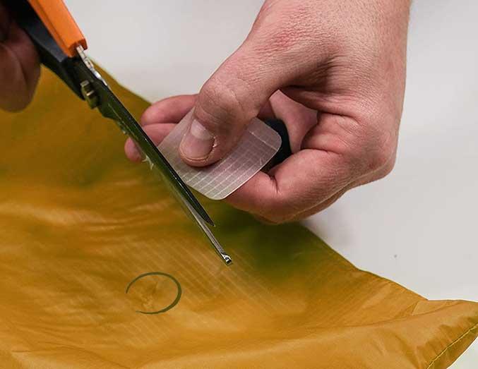 Reparación colchón inflable